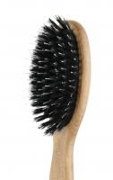 GORGOL - NATUR - Pneumatyczna szczotka do włosów z naturalnego włosia + ROZCZESYWACZ - 15 01 142 - 8R