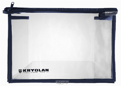 KRYOLAN - Large transparent cosmetic case - ART. 27782