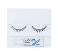 DUO - Professional eyelashes - Artificial eyelashes + adhesive - D14 - D14