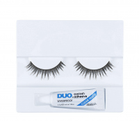 DUO - Professional eyelashes - Artificial eyelashes + adhesive - D13 - D13