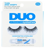 DUO - Professional eyelashes - Artificial eyelashes + adhesive