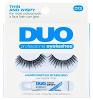 DUO - Professional eyelashes - Sztuczne rzęsy + klej