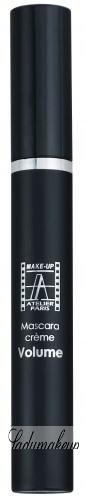Make-Up Atelier Paris - Mascara creme Volume - Tusz do rzęs 3 w 1 - wydłuża, pogrubia, podkręca - MNVL - NOIR