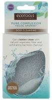Ecotools - PURE COMPLEXION FACIAL SPONGE - Deep Cleansing - Naturalna gąbka konjac do głębokiego oczyszczania skóry - 1224