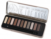 W7 - IN THE BUFF - NATURAL NUDES - EYE COLOUR PALETTE - Paleta 12 cieni do powiek