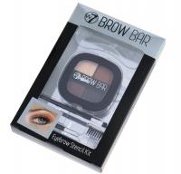 W7 - BROW BAR Eyebrow Stencil Kit - Zestaw do stylizacji brwii