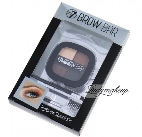 W7 - BROW BAR Eyebrow Stencil Kit -