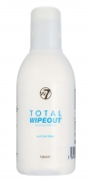 W7 - TOTAL WIPEOUT NAIL POLISH REMOVER - Zmywacz do paznokci