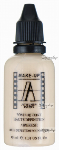 Make-Up Atelier Paris - HD FOUNDATION - Płynny podkład HD