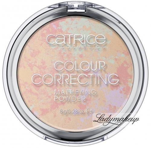 Catrice - Colour Correcting Mattifying POWDER - Korygujący puder matujący w kompakcie