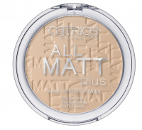 Catrice - POWDER - All matt plus shine control powder - 025 - SAND BEIGE - 025 - SAND BEIGE
