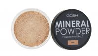 GOSH - MINERAL POWDER - Puder mineralny - sypki-008 - TAN - 008 - TAN