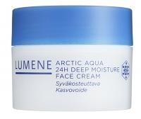 LUMENE - ARCTIC AQUA - 24 H DEEP MOISTURE FACE CREAM - Głęboko nawilżający krem 24H (cera sucha/ normalna) - REF. 80110
