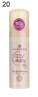 Essence - Podkład Stay All Day Makeup-20 - 20 - SOFT NUDE