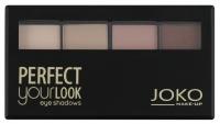 JOKO - Perfect your look eye shadows QUATTRO - Paleta 4 cieni do pwiek