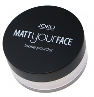 JOKO - Matt your face loose powder - Matujący puder sypki