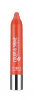JOKO - COLOR & SHINE Colour Lip Balm - Nawilżająca pomadka w kredce-03 - 03
