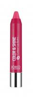 JOKO - COLOR & SHINE Colour Lip Balm - Nawilżająca pomadka w kredce-02 - 02