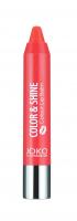 JOKO - COLOR & SHINE Colour Lip Balm - Nawilżająca pomadka w kredce-04 - 04