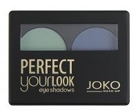 JOKO - Perfect your look eye shadows DUO - Paleta 2 cieni do pwiek