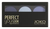 JOKO - Perfect your look eye shadows TRIO - Paleta 3 cieni do powiek
