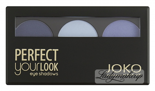 JOKO - Perfect your look eye shadows TRIO - Paleta 3 cieni do powiek