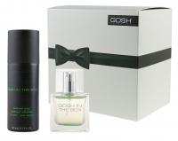 GOSH - ZESTAW - IN THE BOX - Woda toaletowa + dezodorant w sprayu DLA MĘŻCZYZN