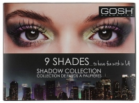 GOSH - 9 SHADES... TO HAVE FUN WITH IN LA - 9 Eyeshadows - 002