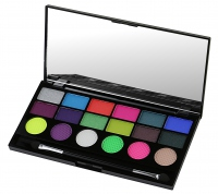 MAKEUP REVOLUTION - Colour Chaos 18 Exclusive Eyeshadow Palette - Paleta cieni do powiek