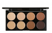 MAKEUP REVOLUTION - Ultra Cover & Conceal Palette - Paleta 8 korektorów - MEDIUM-DARK - MEDIUM-DARK