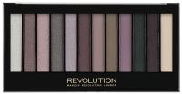 MAKEUP REVOLUTION - Redemption Palette ROMANTIC SMOKED - Paleta 12 cieni do powiek