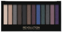 MAKEUP REVOLUTION - Redemption Palette HOT SMOKED - Paleta 12 cieni do powiek