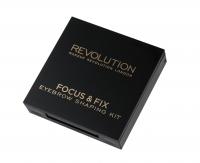 MAKEUP REVOLUTION - Focus & Fix Eyebrow Shaping Kit - Zestaw do stylizacji brwi