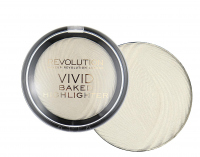 MAKEUP REVOLUTION - Vivid Baked Highlighter - Rozświetlacz - GOLDEN LIGHTS - GOLDEN LIGHTS