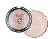 MAKEUP REVOLUTION - Vivid Baked Highlighter - Rozświetlacz - PEACH LIGHTS - PEACH LIGHTS