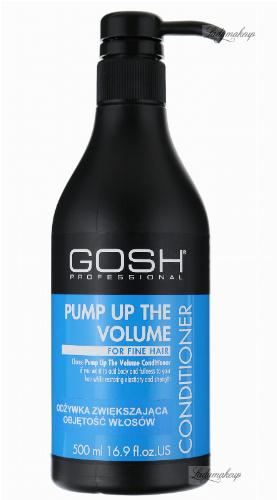 GOSH - Pump Up The Volume Conditioner - Odżywka zwiększająca objętość włosów