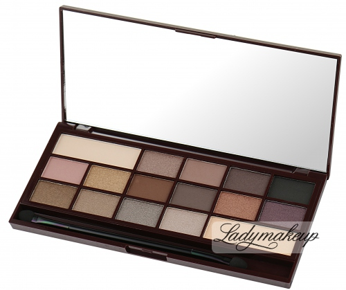 I ♡ Makeup - 16 Eyeshadow DEATH BY CHOCOLATE - Paleta 16 cieni do powiek (CZEKOLADA)