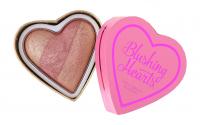 I Heart Revolution - Blushing Hearts Triple Baked Blusher - Róż do policzków - PEACHY KEEN HEART - PEACHY KEEN HEART
