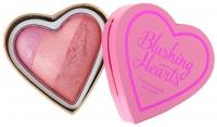 I Heart Revolution - Blushing Hearts Triple Baked Blusher - Róż do policzków