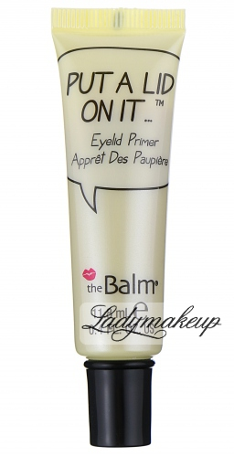 THE BALM - PUT A LID ON IT... Eyelid Primer - Baza pod cienie do powiek