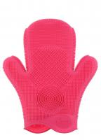 Sigma - 2x SIGMA SPA® BRUSH CLEANING GLOVE - RĘKAWICA DO CZYSZCZENIA PĘDZLI - PINK - PINK