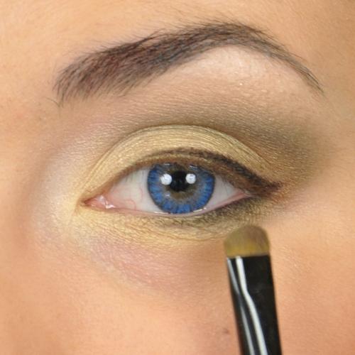 Makijaż Dla Niebieskich Oczu Makijaż Oczu Krok Po Kroku