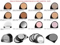 VIPERA - Puder funkcyjny zobojętniający przebarwienia - MPZ HAMSTER