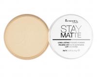 RIMMEL - Stay Matte - Puder matujący - 001 - TRANSPARENT