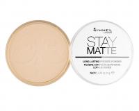 RIMMEL - Stay Matte - Puder matujący - 005 - SILKY BEIGE - 005 - SILKY BEIGE