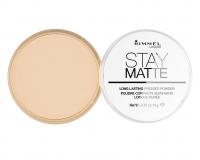 RIMMEL - Stay Matte - Puder matujący - 006 - WARM BEIGE - 006 - WARM BEIGE