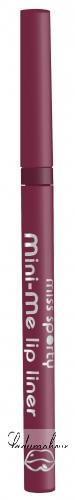 Miss Sporty - Mini-Me lip liner - Automatyczna kredka do ust MINI