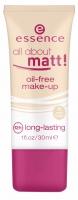 Essence - All about matt! oil-free make-up - Podkład matujący do twarzy 12h