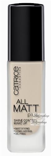 Catrice - PODKŁAD - All Matt Plus Shine Control Make Up - Podkład neutralizujący świecenie skóry