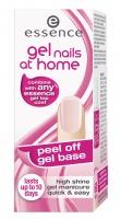Essence - Gel nails at home - Peel off gel base - Lakier bazowy ułatwiający usunięcie lakieru